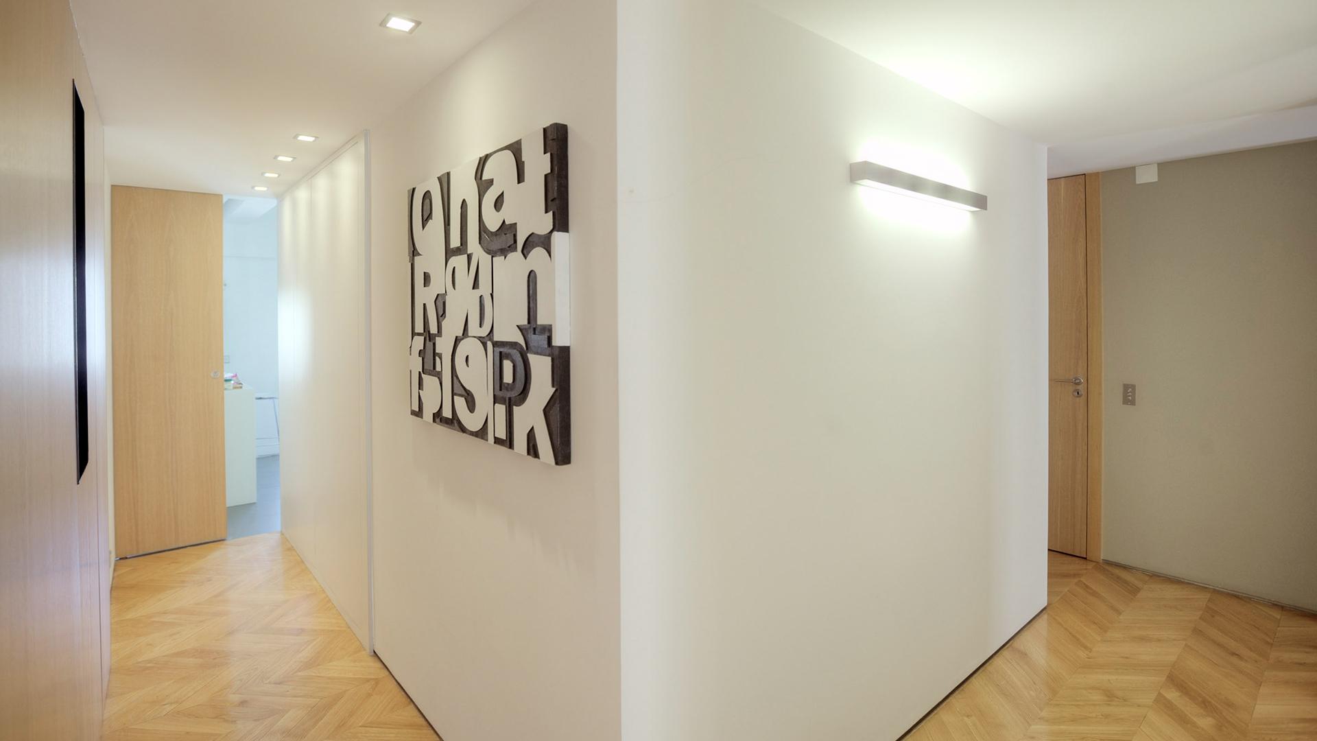 remodelação apartamento portugal corredor